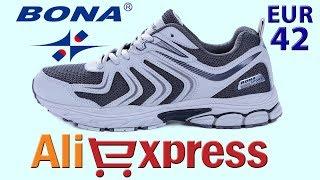 Обзор летние кроссовки BONA из Китая с AliExpress