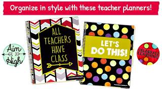 Teacher Planners: Personalize Your Plan for Success