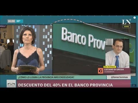 Descuento del 40% en el Banco Provincia: ¿cómo lo logra la Provincia más deuda?