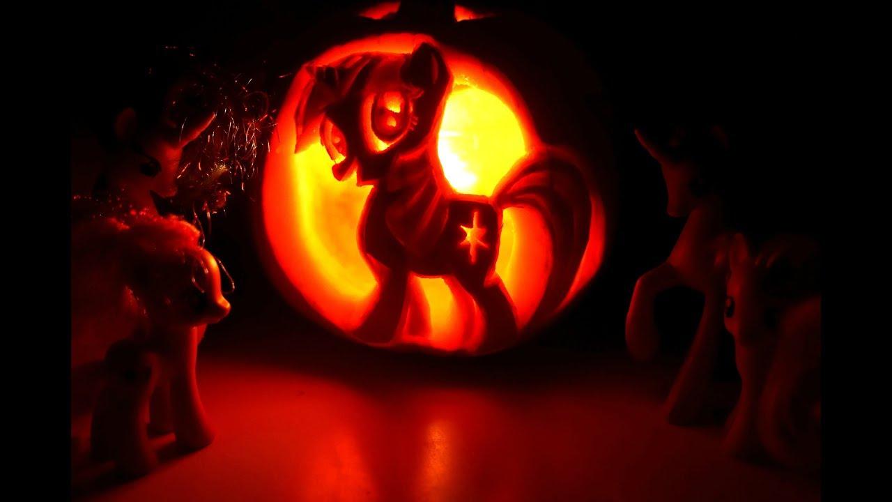 My Little Pony Twilight Sparkle Pumpkin Carving 2017 Mlp Idea