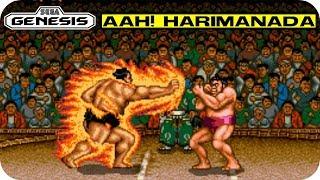 Aah! Harimanada - Sumo wrestlers don't fare very well in video games ... Sega Genesis Gameplay HD