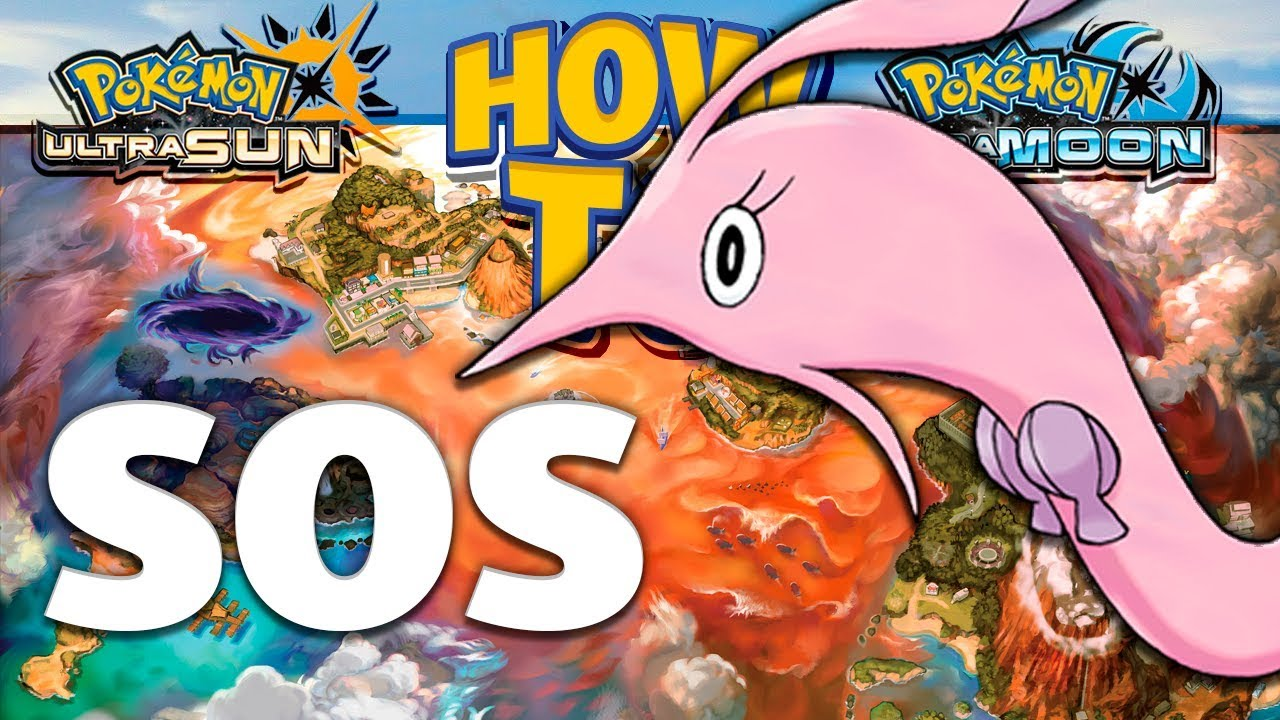 HOW TO GET Gorebyss in Pokemon Ultra Sun and Moon