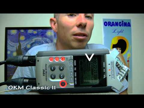 OKM II Classic Binaural 3D Test with Dummy Head + Zoom H4N Setup Guide Compared to Rode NTG-3