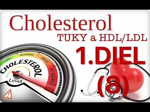 1️⃣️ DIEL seriálu o tukoch, cholesterole a HDL-LDL #tuky 🔴 Jankowitch © 2018