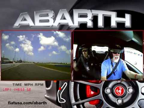 Abarth Driving Experience - YouTube