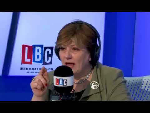 Emily Thornberry answers the questions on LBC - 22 Feb 2018