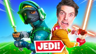 WE BECAME JEDI MASTERS IN FORTNITE!
