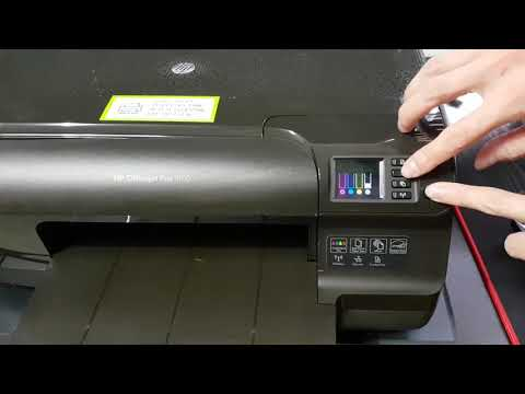 How to clean HP OfficeJet Pro 8100 Printhead l Head Cleaning