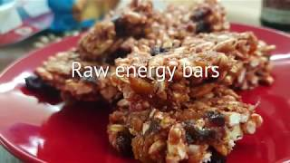 Vitalia healthy food - Raw energy bars (diet, lactose free)