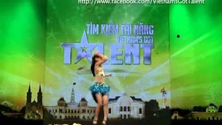 vietnams got talent 2012 - vong loai san khau - dinh thuy duong