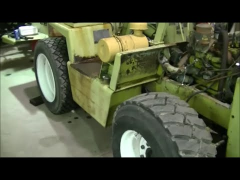 Clark IT-40 Forklift Engine Replacement Part 1 of 9