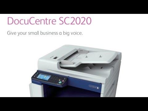 Fuji Xerox DocuCentre SC 2020, How To Install Driver Printer