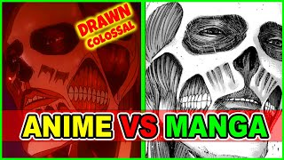 Colossal Upgrade? Levi Vs Beast Titan round 2!  Anime Vs Manga | Attack on Titan Season 4 Episode 7