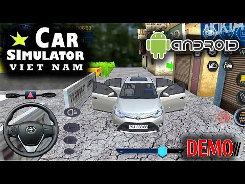 [CAR SIMULATOR VIETNAM] Demo lái thử game lái xe con Toyota Vios cực phê HĐH Android