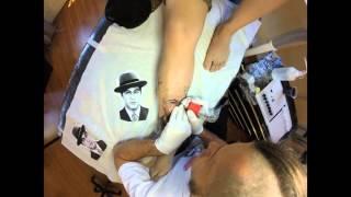 Inkedbymario - Tattoo Michael Corleone