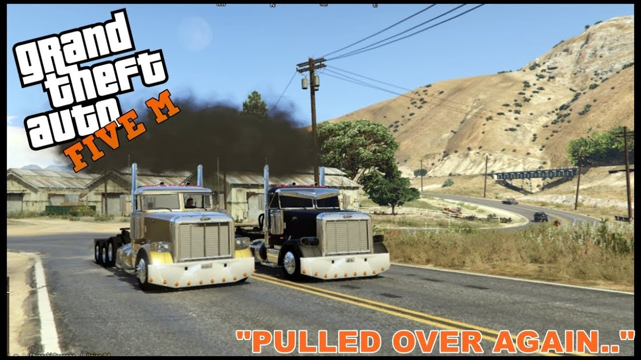 GTA 5 ROLEPLAY - SEMI TRUCK DRAG RACERS - EP  196 - CIV