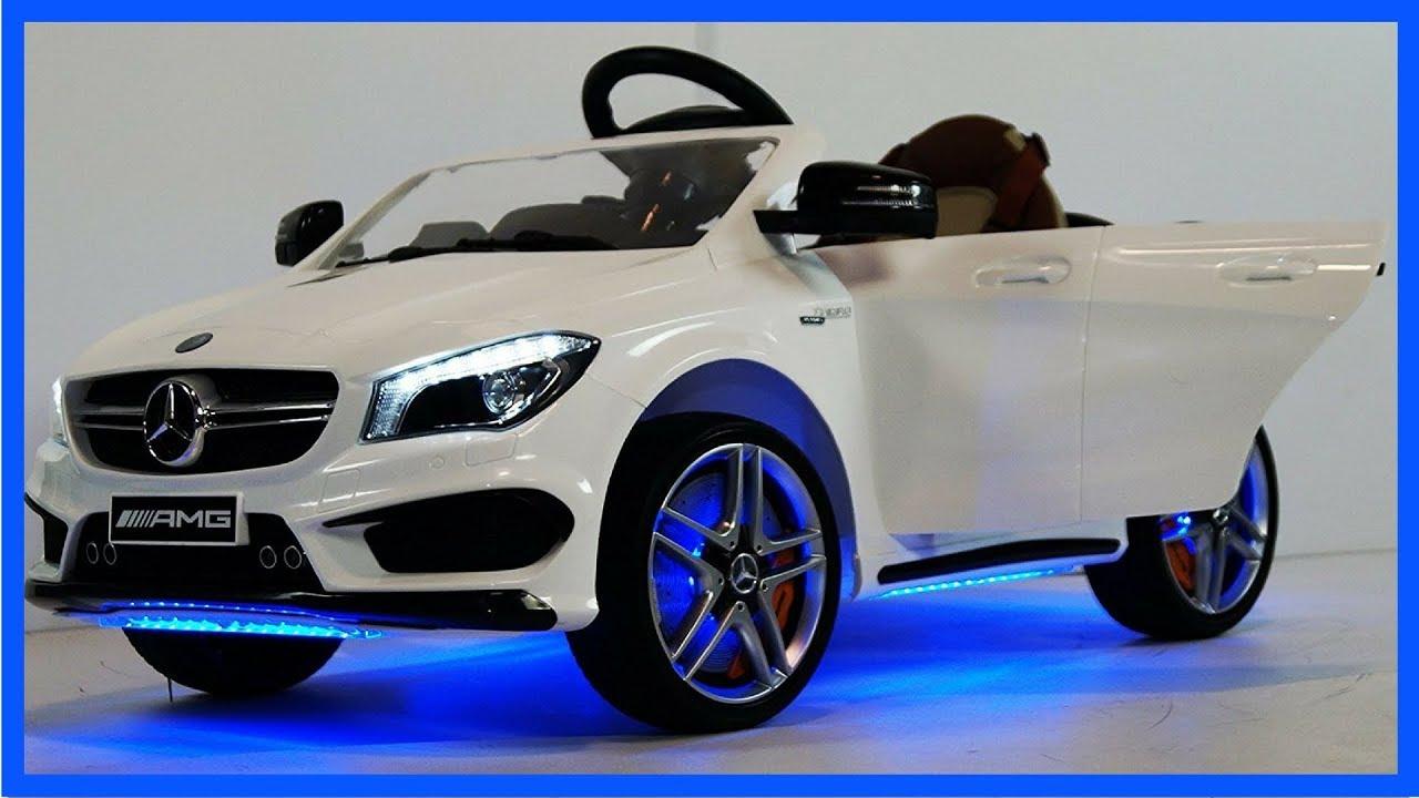 Mercedes Power Wheels >> Highest Price Power Wheels For Kids Mercedes Benz Cla45 Amg Red Kids Ride On Car