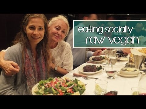 Eating Socially on a Low Fat Raw Vegan Diet