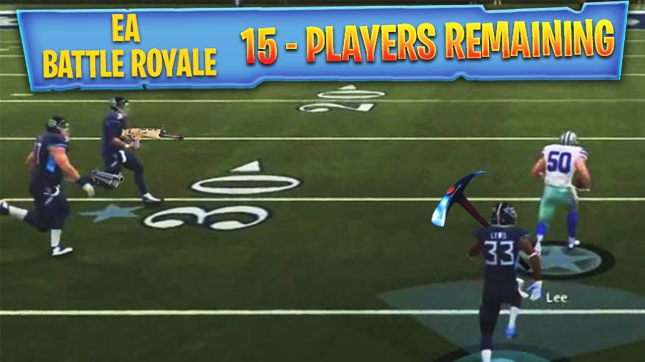 EA ADDS BATTLE ROYALE TO MADDEN 19