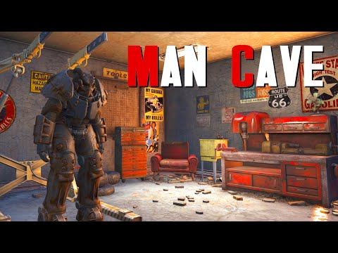 Fallout 4 Settlement Build: Man Cave |