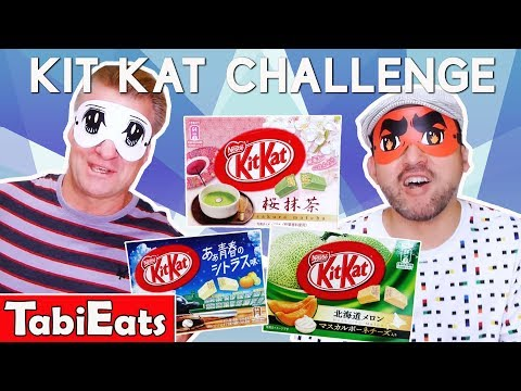 KIT KAT CHALLENGE-Exotic Japanese Flavors w/Ericsurf6