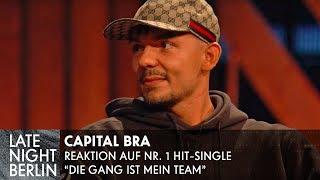 "Capital Bra reagiert auf ""Die Gang ist mein Team"" - Entschuldigt Klaas sich? | Late Night Berlin"
