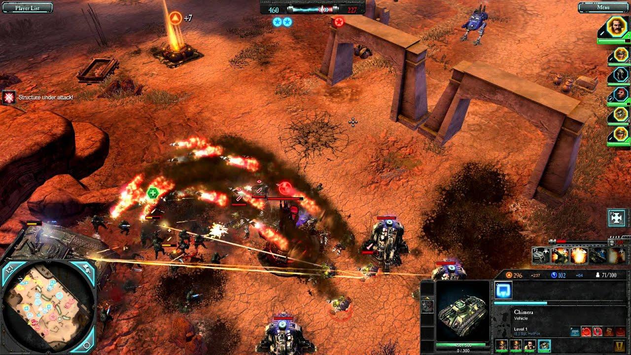 Hellfox Plays Dawn Of War 2 Retribution Match 14 Youtube