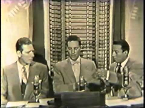 Cameraman Leonard Peck and Durward Kirby on The Garry Moore Show