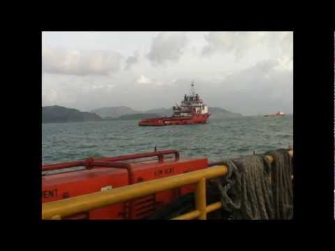 Trengganu kite - offshore oil and gas platform