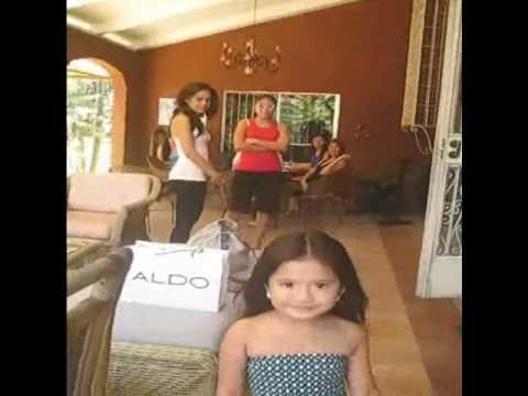 Little Karla Paula Henry with Sandra Seifert and K...