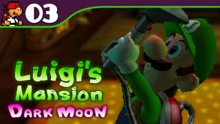 Luigi's Mansion: Dark Moon | Toilet Trouble - 3 (Nintendo 3DS Gameplay Walkthrough)