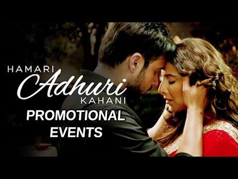 Hamari Adhuri Kahani 2015 Movie | Emraan Hashmi, Vidya Balan, Rajkummar Rao | Full Movie Promotions