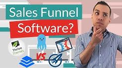Best Sales Funnel Software? ClickFunnels vs Builderalll vs Thrive Themes vs OptimzePress