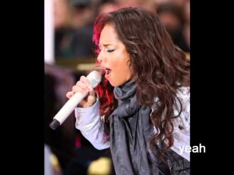 Alicia Keys - If I Was Your Woman ( Walk On By ) Lyrics on Screen