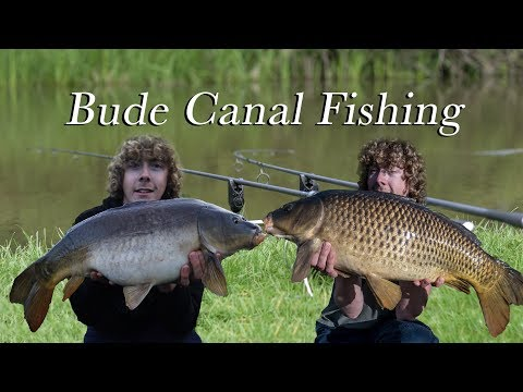 Episode 170 - Bude Canal Fishing - Nuffinbutfishing