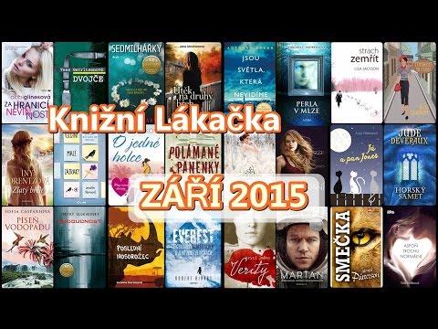 KNIŽNÍ LÁKAČKA ✰ ZÁŘÍ 2015