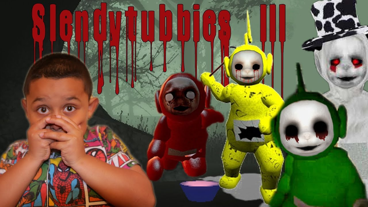 TELETUBBIES.EXE IN THE MOUNTAINS! | Slendytubbies 3 Gameplay CHAPTER