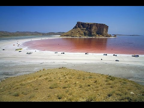 URMIA LAKE IN IRAN TURNS RED BLOOD AUGUST 1, 2016