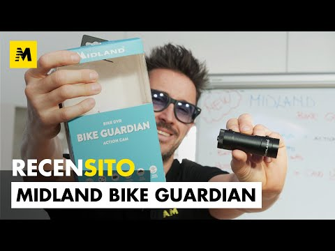 Midland Bike Guardian. Recensione dash camera [ENGLISH SUB]