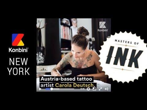 Tattooartist Carola Deutsch from DECASA Austria
