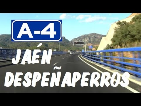 A-4 Jaén , Autovía del Sur , Zona Despeñaperros / Despeñaperros tunnels -- Highways in Spain