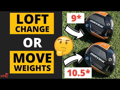Alter Your Driver Launch By Loft Or Moveable Weights?