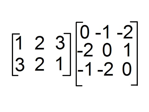 Matrix 3x3 by 2x3 homework help do program evaluation dissertation