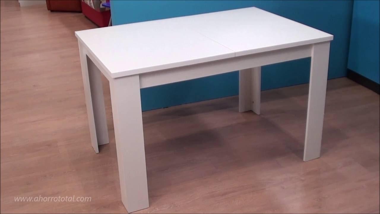 Mesa extensible para el comedor salón 8598 - YouTube