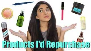 Products I'd Repurchase | Aashna Shroff