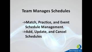 Sports Scheduling Software   League Schedule Maker