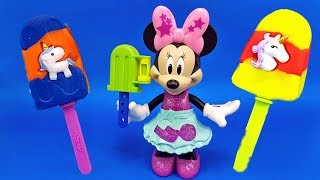 Learn Colors With Mickey Mouse and Balls out of Play Doh | Learn Numbers | Kids Songs | Nursery Rhym