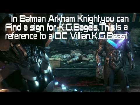 Batman Arkham Knight KGBeast EASTER EGG!!!!!