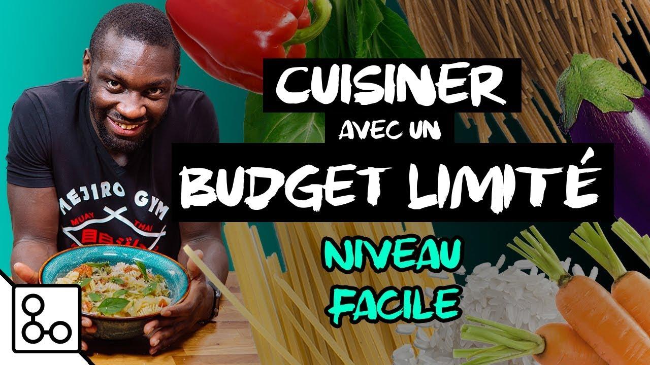 Cuisiner avec un budget limité (niveau facile) - Vlog YouCook