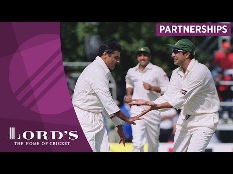 Wasim Akram & Waqar Younis - 'A partnership made in heaven'